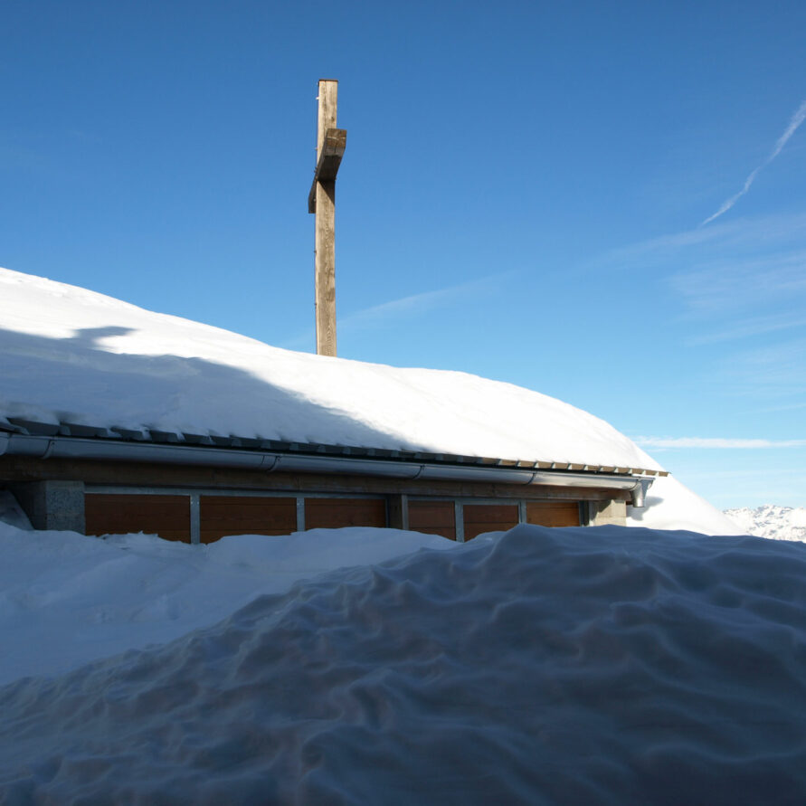 neve al rifugio